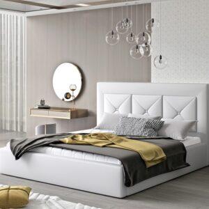 Čalúnená manželská posteľ Clementina 180x200