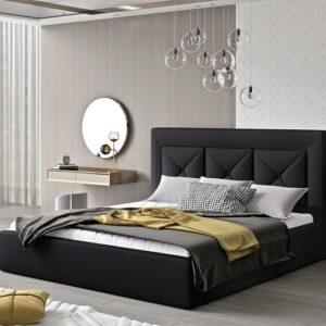 Čalúnená manželská posteľ Clementina 200x200