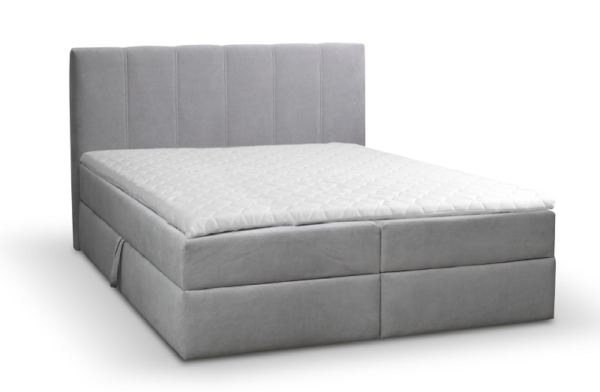 Čalúnená manželská posteľ Ema