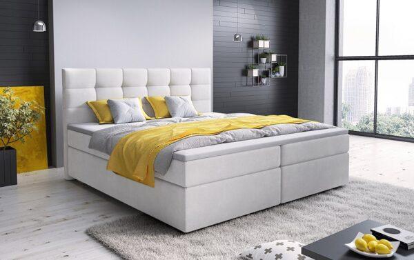 Čalúnená posteľ boxspring Glos