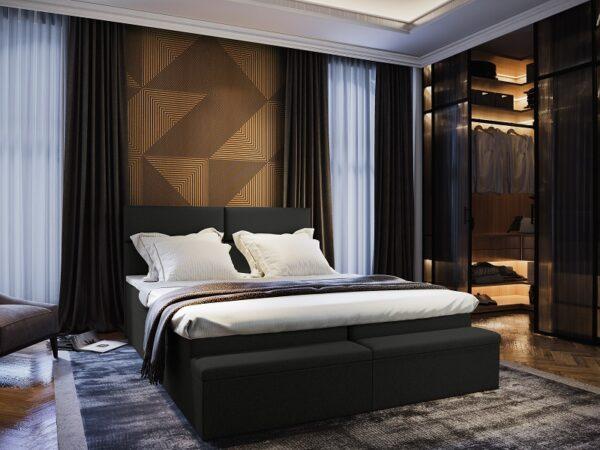 Čalúnená posteľ Melfi